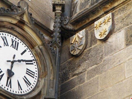 64799 prague old town hall clock