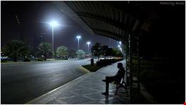 bus stop abu dhabi