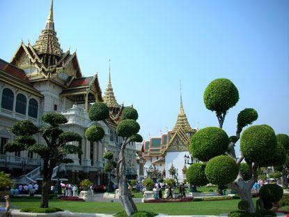 6533 bangkok palazzo reale e giardini