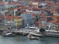 Vista del molo di Porto.