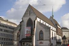 museo storico nella vecchia chiesa francescana basilea