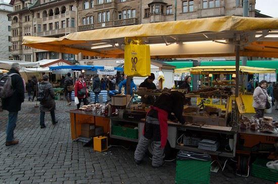 piazza del mercato basilea