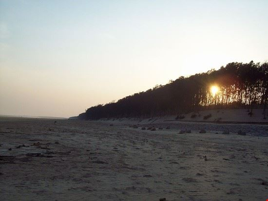 Sunset on Digha Beach