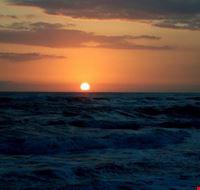 tramonto forte dei marmi