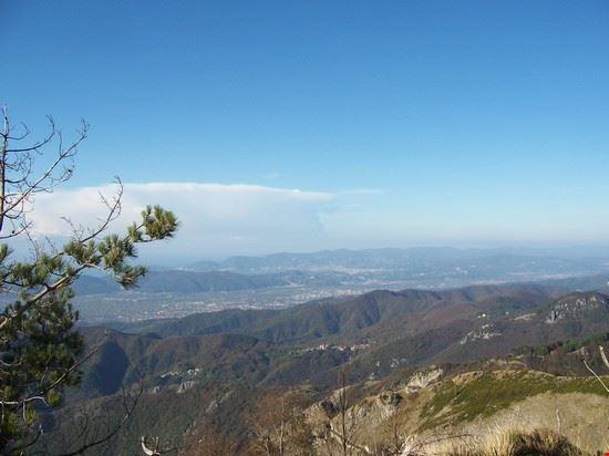Carrara vista dall'alto