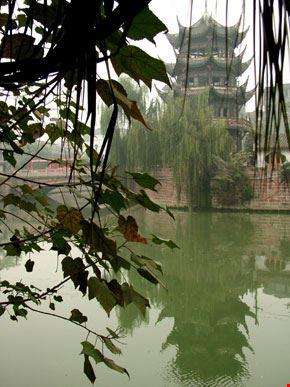chengdu pagoda cinese