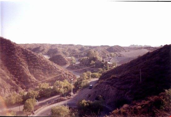 vista sul challao dal cerro de la gloria mendoza