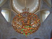 interno della moschea bianca