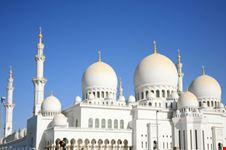 Moderna moschea ad Abu Dhabi