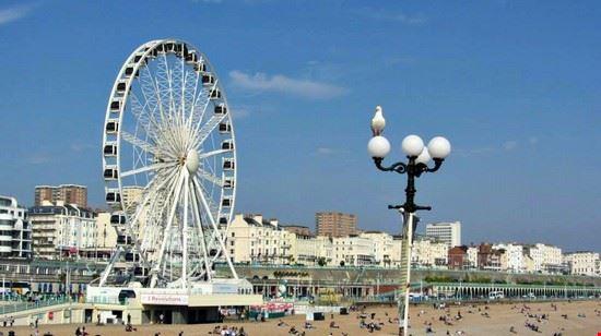 Brighton Pier and the wheel