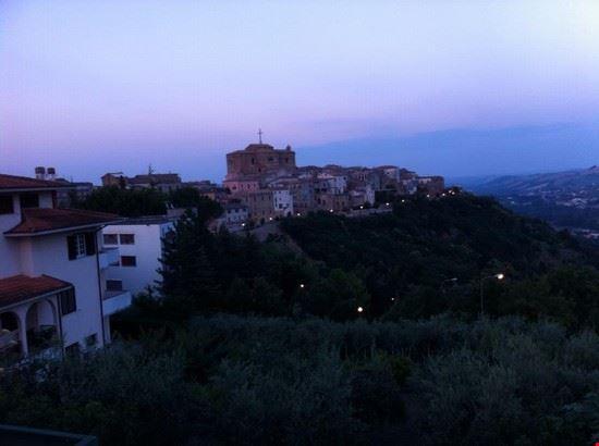 Castiglione Messer Raimondo di sera