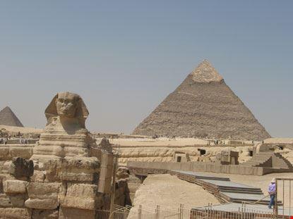 giza il complesso archeologico