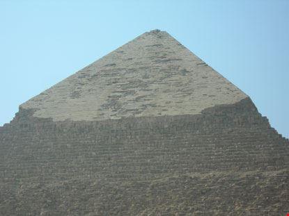 giza l apice della grande piramide
