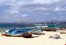 Barche Da Pesca sulla Sabbia