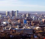 Panorama di Birmingham in Alabama