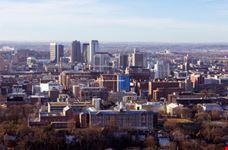 Panorama di Birmingham in Alabama