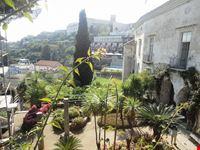 vista dall alto del giardino ravello