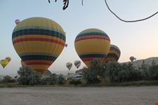 Viaggio in mongolfiera sulla Cappadocia