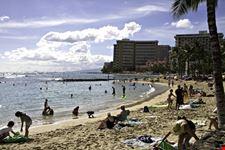 honolulu spiaggia di waikiki