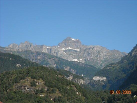 Il Monte Cervandone visto da Baceno