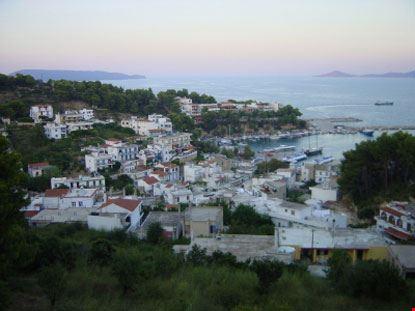 Veduta panoramica di Alonissos