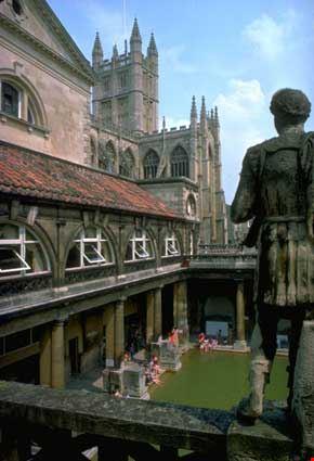 bath centurione romano con castello