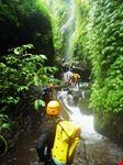 Tamata into the gorge - Bali Canyoning