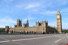 westminster palace and big ben londra