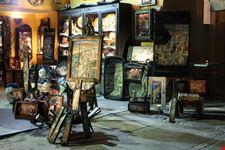 santorini negozio di quadri