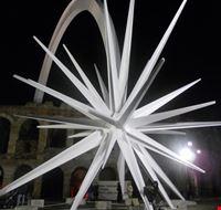 Verona Stella Di Natale.Foto Arena Con Stella Di Natale A Verona 412x550 Autore