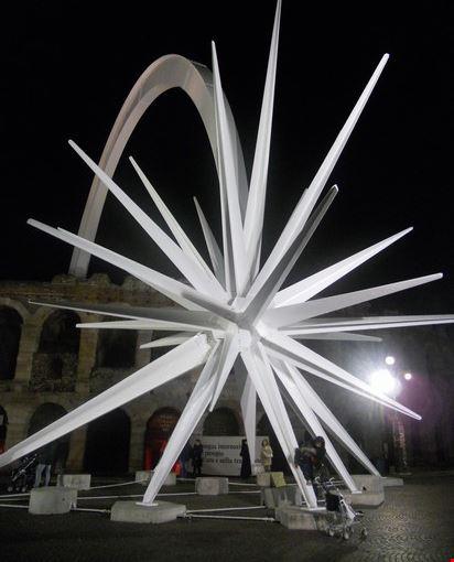 Stella Di Natale A Verona.Foto Arena Con Stella Di Natale A Verona 412x550 Autore