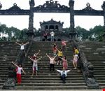 Royal Tombs in Hue city