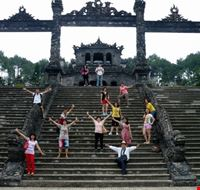 Royal Tombs in Hue city