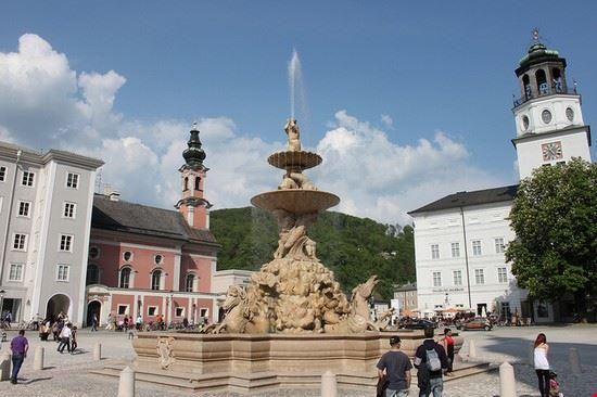 salisburgo residenzplatz