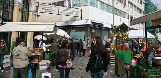 69849 atene mercato di monastiraki