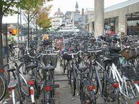 Biciclette alla Stazione Ferroviaria