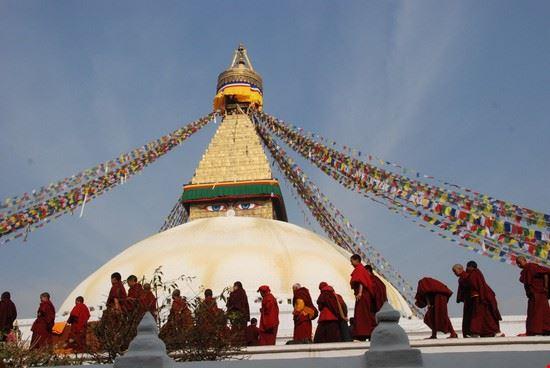 Kathmandu sightseeing Baudhanatha Stupa