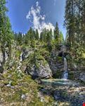 madonna di campiglio cascate vallesinella