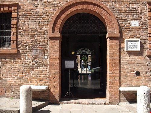 ferrara house of ludovico ariosto