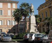 Lapide monumento a Garibaldi