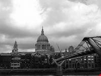 londra millennium bridge e st paul