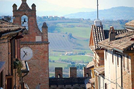 71639 gradara panorama dai torrioni