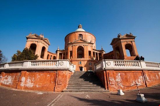 Foto Bologna Santuario Di San Luca A Bologna 550x365