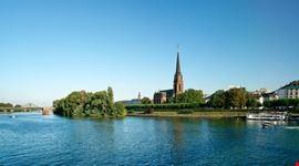 frankfurt il fiume main