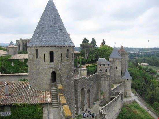 le mura medievali carcassonne