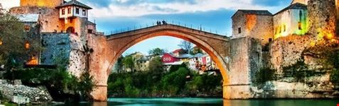 old bridge in mostar mostar