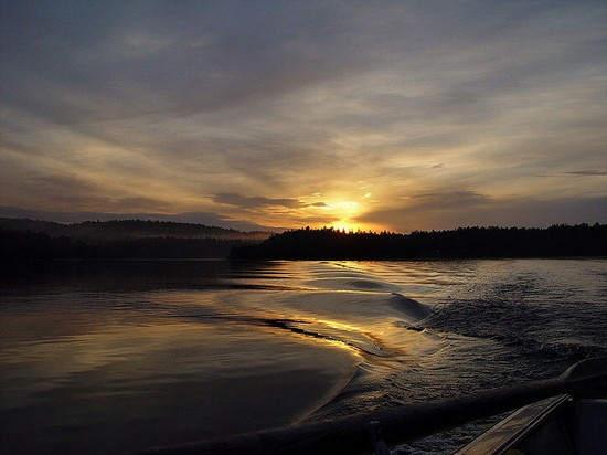 Sole a mezzanotte a Capo Nord