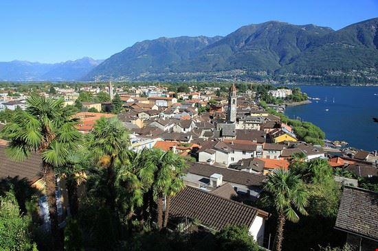 Ascona, Panorama sul lago