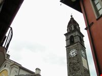 ascona campanile della chiesa dei santi pietro e paolo