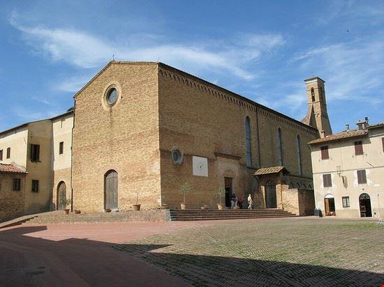 72622 san gimignano chiesa di sant  agostino